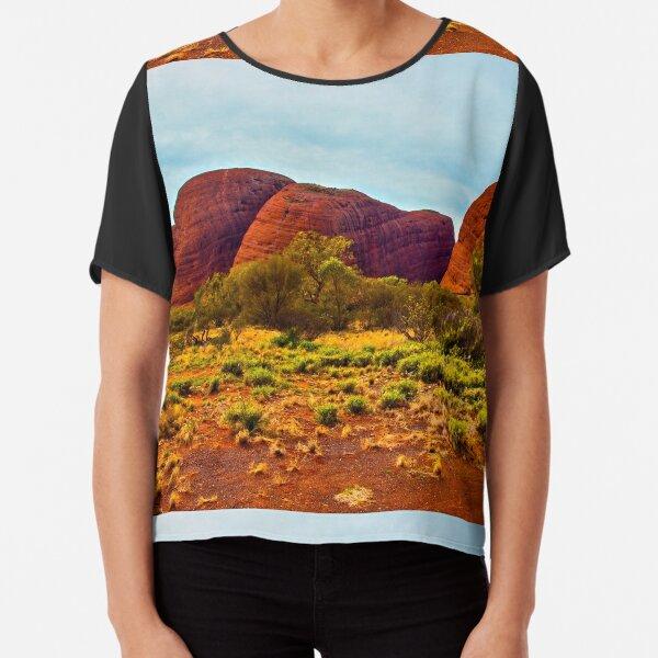 The Olgas, Ayers Rock Australia Chiffon Top