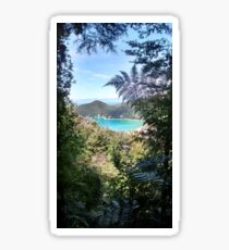 Abel Tasman fern, New Zealand Sticker