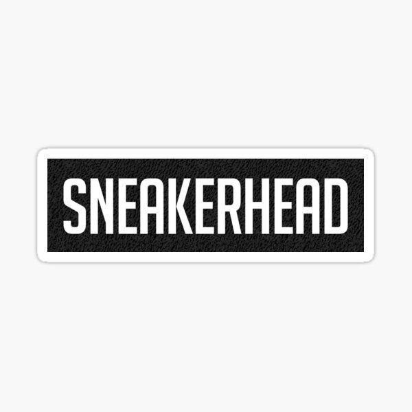 Sneakerhead Yeezy Boost 350 Pattern Black Sticker