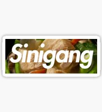Sinigang Box Logo (Soup) Sticker