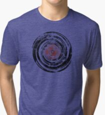 Old Vinyl Records Urban Grunge Tri-blend T-Shirt