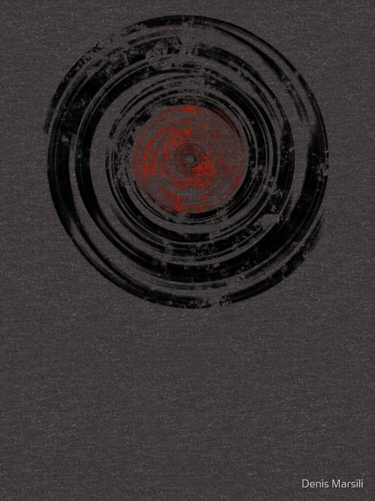 Old Vinyl Records Urban Grunge by ddtk