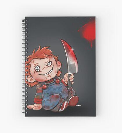 Chucky Spiral Notebook