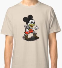 Skeleton mickey zombie mouse Classic T-Shirt