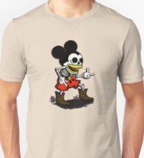 Skeleton mickey zombie mouse Unisex T-Shirt