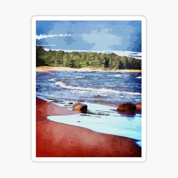 Lake Superior Bay Sticker
