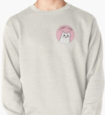 I Don't Care - Cynical Cat Pullover