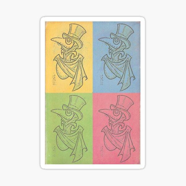 Pop Art Thadious Sticker