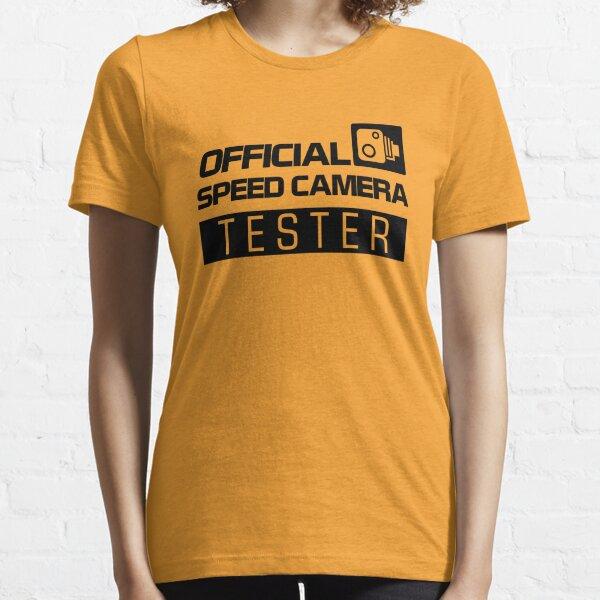 TESTEUR DE CAMÉRA DE VITESSE OFFICIELLE (2) T-shirt essentiel