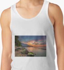 Fishbourne Beach Sunset Tank Top