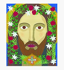 Face of Christ Photographic Print