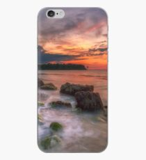 Rocky Beach Sunset iPhone Case