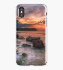 Rocky Beach Sunset iPhone Case