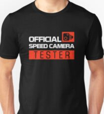 OFFICIAL SPEED CAMERA TESTER (7) T-Shirt