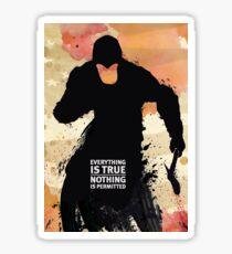 Assassins Creed III Sticker