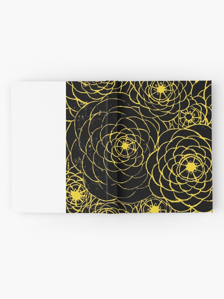 Alternate view of Yellow Spirals Hardcover Journal