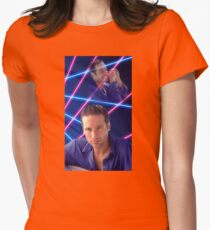 Laser Duchovny Womens Fitted T-Shirt