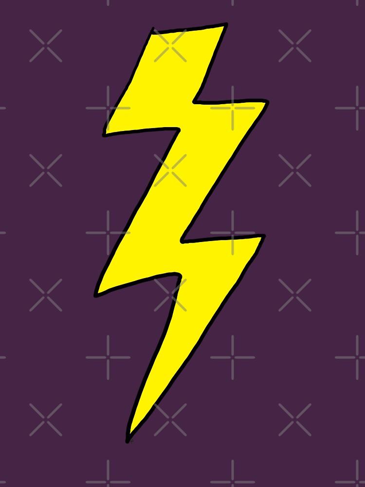 Scott Pilgrim VS the World - Lightning Bolt Shirt - Knives Chow | Unisex T-Shirt