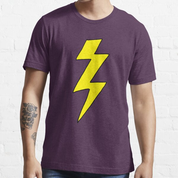 Scott Pilgrim VS the World - Camisa Lightning Bolt - Cuchillos Chow Camiseta esencial