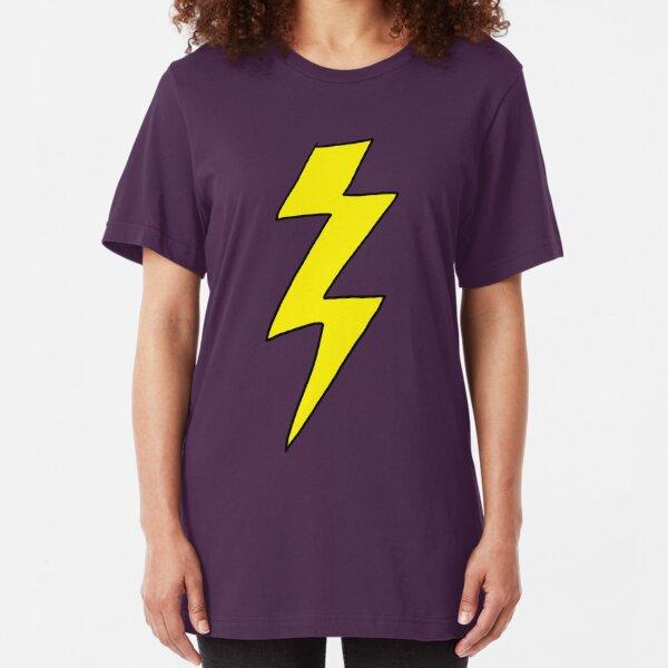 Scott Pilgrim VS the World - Lightning Bolt Shirt - Knives Chow Slim Fit T-Shirt
