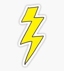 Scott Pilgrim VS the World - Lightning Bolt Shirt - Knives Chow Sticker