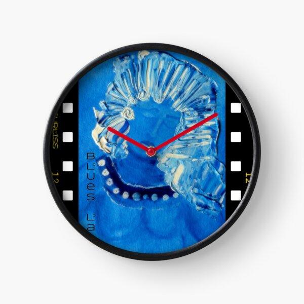 Blues Lady Clock