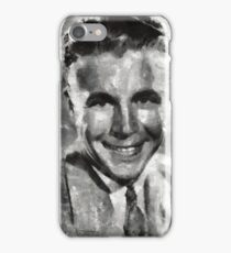 Dick Powell Vintage Hollywood Actor iPhone Case/Skin
