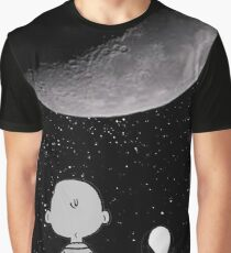 snoopy and charlie night sky Graphic T-Shirt