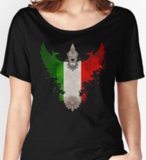 The Art Painting Of Italy Women's Relaxed Fit T-Shirt