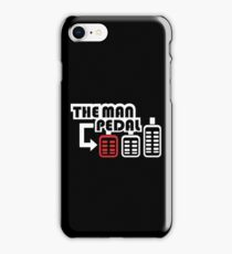 The Man Pedal (1) iPhone Case/Skin