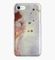 Autumn Queen fine art iPhone Case/Skin