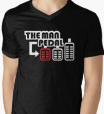 The Man Pedal (1) Men's V-Neck T-Shirt