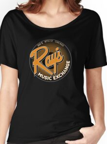 Ray's Music Exchange - Orange Variant Women's Relaxed Fit T-Shirt
