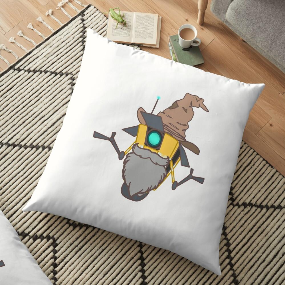 Wiz Claptrap  Floor Pillow