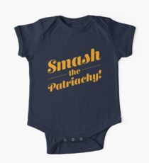 Smash the Patriarchy! One Piece - Short Sleeve