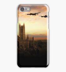 Lancs over Lincoln  iPhone Case/Skin