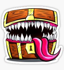 Mimic Chest - Dungeons & Dragons Monster Loot Sticker