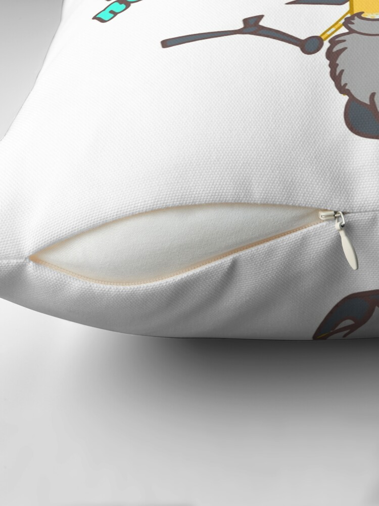 Alternate view of Magic waits for no one, apprenctice Floor Pillow