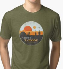 Welcome to Tatooine Tri-blend T-Shirt