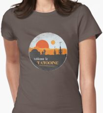 Welcome to Tatooine Women's Fitted T-Shirt