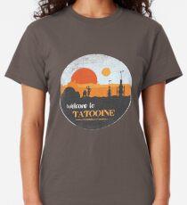 Willkommen auf Tatooine Classic T-Shirt