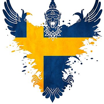 The Art Painting Of Sweden by dejava