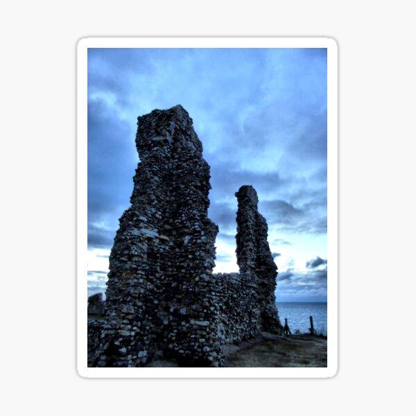 Ruins by twilight Sticker