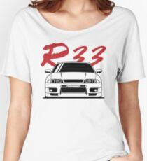 Skyline R33 GTR Women's Relaxed Fit T-Shirt
