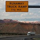 Runaway Truck Ramp 1½ Mile by Daniel Owens