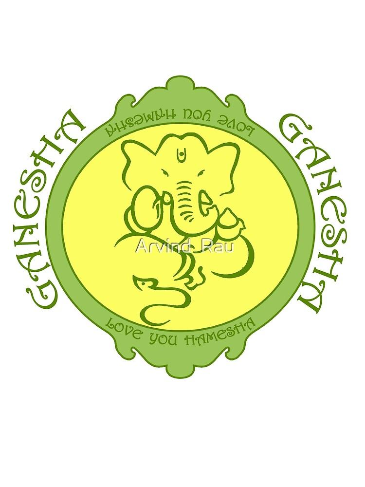 Ganesha Love you hamesha by Arvind  Rau
