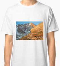 First Light at Longs Peak Classic T-Shirt