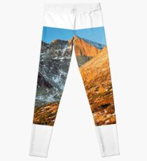 First Light at Longs Peak Leggings