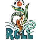 Mermaid Mantras: Relax and Roll by mellierosetest