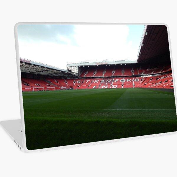 Manchester united - stretford end Laptop Skin